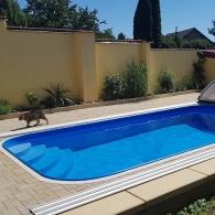 Obdélníkové Bazény Do Země